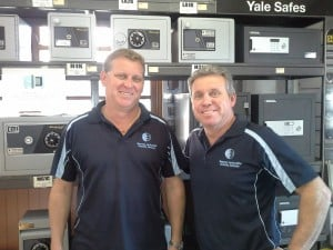 The Benson brothers at Bensons Locksmiths